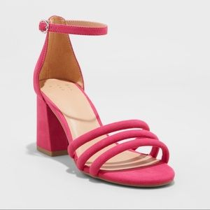 NWT - A New Day - Pink Block Heels